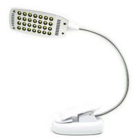 Lampu Jepit Lampu LED 28 LED Lampu Belajar Lampu Baca Lampu Klip USB