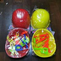 New Tukang Alat Helm Mainan Anak Kerja Topi Proyek Terlaris