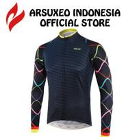 Baju Sepeda Lengan Panjang Pria Wanita Roadbike MTB / ARSUXEO Z921