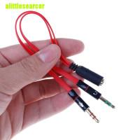 AUDIO MIC SPLITTER COMBINER ADAPTER FOR HEADSET HANDSFREE EARPHONE