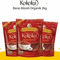 Kokoku beras merah 2 Kg / Organic Red Rice 2 Kg