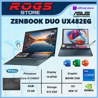 Asus Zenbook Pro Duo UX482EG KA751IPS Touch i7 1165G7 16GB 512ssd