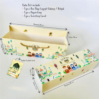 dus bolu gulung / lapis legit box kue slopan edisi lebaran idul fitri