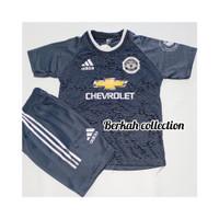 BISA COD/ Stelan baju bola anak lengkap dan termurah/ jersey kaos bola - MU ABU, 4