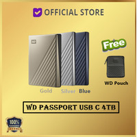 WD MY Passport Ultra USB-C 4TB USB Type C USBC USB C