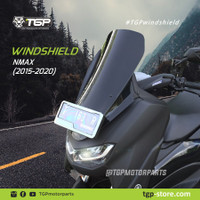 VISOR WINSHIELD YAMAHA NMAX 2015 2021 AKSESORIS ORIGINAL TGP