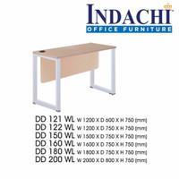 Meja Kantor INDACHI DD.121 WL-Ukuran 120x60x75 cm-Molek_Furniture