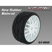 Rc Car Ban/Velg/Tyre/Tire Vp Pro Gt Onroad 1/8 Buggy Rubber (2pcs)