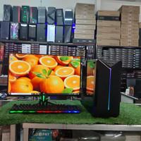 Pc Rakitan Core i5 Plus Monitor 19 LG New Harga Promo