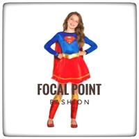 kostum supergirl baju anak terbaru superhero halloween costume