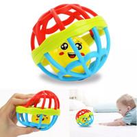 Bola Rattle Kerincingan Silikon Mainan Bayi