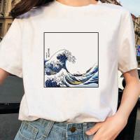 Kaos Baju Ocean aesthetic tumblr tee 90s oversize unisex murah