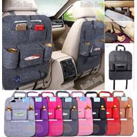 Car Seat Organizer / Tas Gantung Belakang Jok Mobil Multifungsi - X464