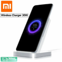 Xiaomi Qi Wireless Charger Handphone Stand Holder 30W with Cooling Fan