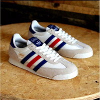 Sepatu Adidas Dragon White France 100%Original