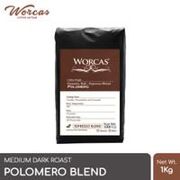 Kopi Polomero Espresso Blend 1 Kg (Biji/Bubuk) | Worcas Coffee