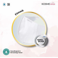 kosme Mask fitmask with nano silver isi 50 original