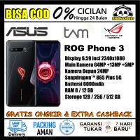 TAM ASUS ROG Phone III / 3 SD 865+ RAM 8/12 GB | ROM 128/256/512 GB