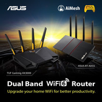 ASUS TUF AX-3000 Dual Band WiFi 6 Router TUF Gaming RT- AX3000