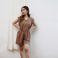 Jolie Set - Baju Setelan Wanita / Setelan Scuba / Setelan / Fashion wa