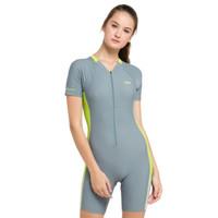 Baju Renang Wanita OPELON - Diving Suit Grey Neon