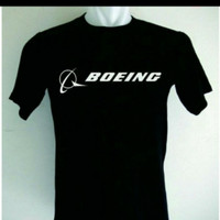 T Shirt oblong kaos Boeing 1 s m l xl 2xl 3xl 4xl