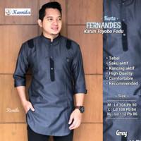 Baju Koko Pria Terbaru Fernandes Kurta Toyobo Fodu Premium Recommended
