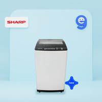 SHARP Mesin Cuci 9Kg ESM9000TGG / ESM 9000TGG / 9000 TGG