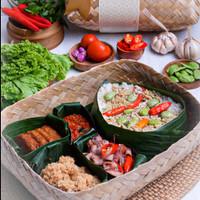 Besek Keluarga Nasi Liwet Bali Indah Catering