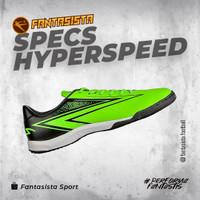 SEPATU FUTSAL SPECS - HYPERSPEED IN - ORIGINAL - Gecko Green, 46