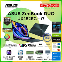 ASUS ZENBOOK DUO UX482EG-KA751IPS i7-1165G7 16GB 512GB MX450 2GB 14