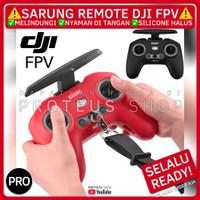✅ SARUNG COVER REMOTE CONTROLLER DJI FPV CONTROL SILIKON STRAP TALI