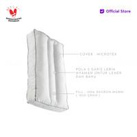 Vablo Healthy Pillow 40x70x10CM Bonus Tas