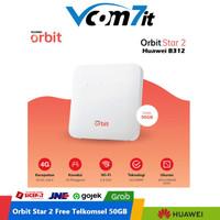 Huawei B312 Modem Wifi Home Router 4G Telkomsel Orbit Star 2