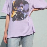 Kaos Baju Purple Rain aesthetic tumblr tee 90s oversize unisex murah