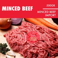 Daging Sapi Giling Minced Beef Tasty Import 500gr