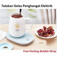 Tatakan Gelas Penghangat Pemanas Minuman Elektrik Warmer Heating Pad