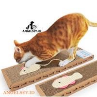New !!! Mainan Papan Cakar Sisal untuk Kucing - Cat Scratch Pad Board