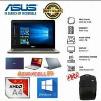 LAPTOP ASUS X441 AMD A4-9125 _4GB_1TB_WIN10_DVD