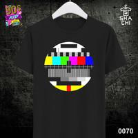 Kaos Distro Baju Jadul Lawas 80an 90an K - Black Premium 24s S-XXL