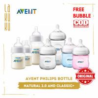 Natural Avent Philips 2.0 Bottle dan Shrink Wrap Classic+ 125 ml 260ml