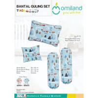 Omiland Set Bantal & Guling Peang Bayi Gift Set Baby