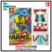 Switch ARMS +Boxing Strap Blue/Green English MDE US Cover