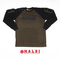 Kaos Tactical BLACKHAWK Panjang Hijau - M