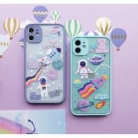 Casing Handphone Astronaut iPhone 11 Pro 12 Pro 12 Mini 12 Pro Max