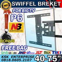 Breket Bracket Brecket TV LCD LED NB P6 North Bayou BREKET LCD LED TV