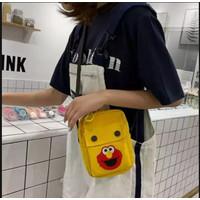 Tas Selempang Mini TNT Elmo / Tas Slempang Unisex Mini