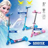 SCOOTer Motif Anak Perempuan Mainan Anak Otoped. VR-09B - pjmasks hijau