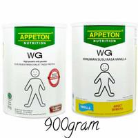 appeton WG vanilla coklat 900g 900gr 900gram 900 g gr gram weight gain