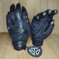 sarung tangan mechanix hall finger - Hitam
